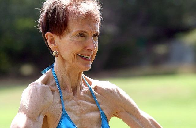73-летняя бодибилдер рушит стереотипы