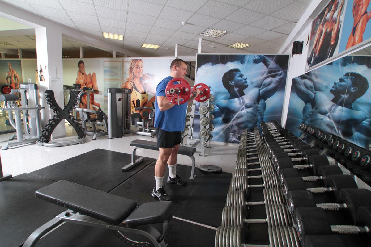В волынском селе открыли спортивный центр