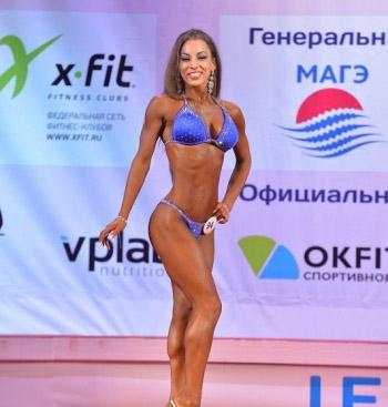 Победительница Кубка России по бодибилдингу Анастасия Никонова: «Я сама себе говорю - «вау»!