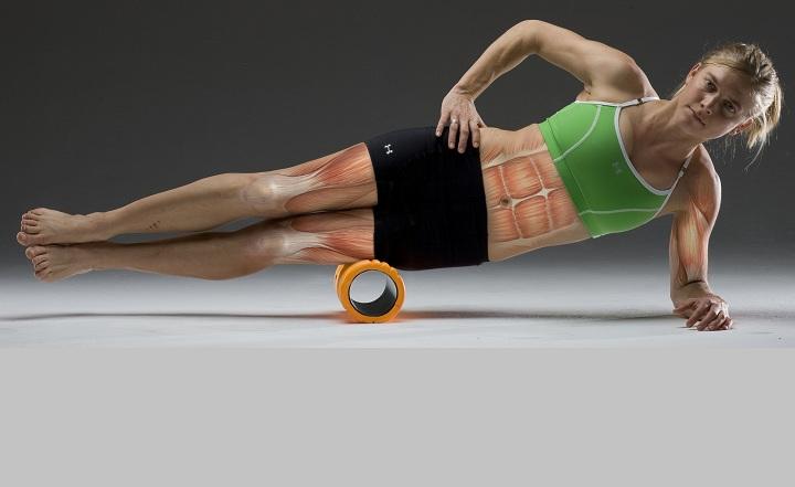 Эффективные упражнения для расслабления мышц с помощью массажного цилиндра