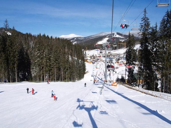 Славское подготовило лыжникам подарок