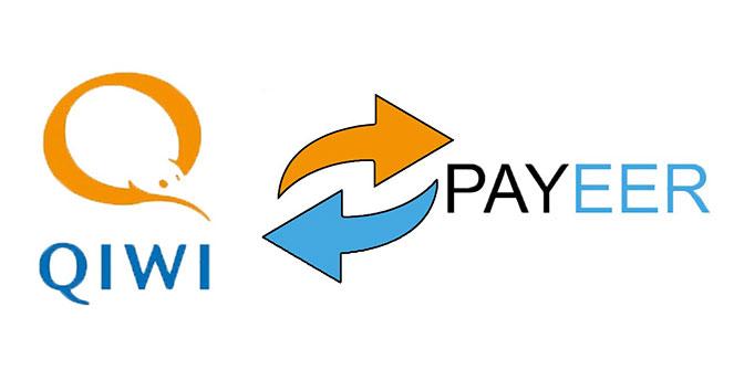 Как происходит обмен QIWI на Paymer