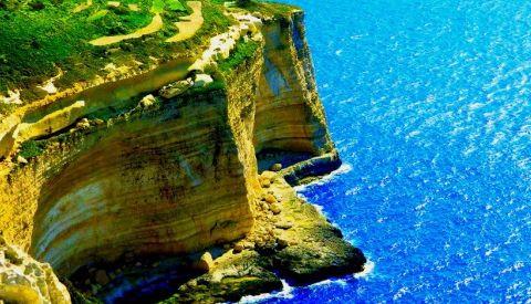 Скалолазание на Мальте