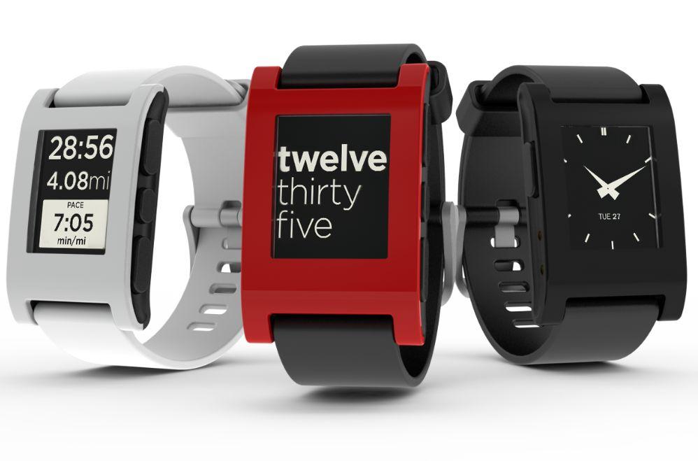 Pebble smartwatch как часы для атлетов