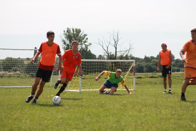 Голландские футболисты обучают наших детей