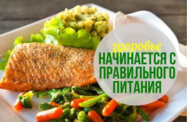 Влияние пищи на здоровье