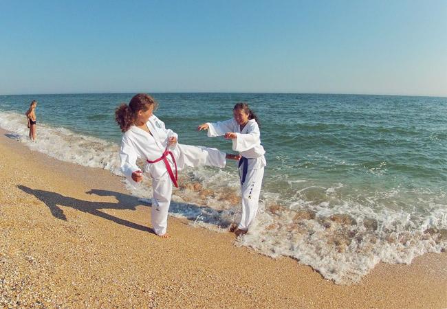 Выбирайте тренировочные сборы на берегу моря