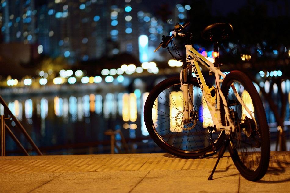 Про велосипед и город